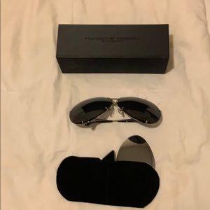 Porsche Design Sunglasses P8478 Lrg SZ Blk